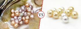 Freshwater vs Saltwater Pearls