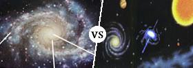 Galaxy vs Universe