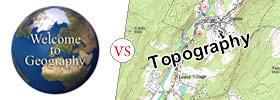 Geography vs Topography