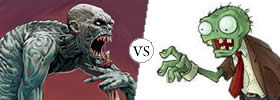 Ghoul vs Zombie