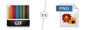 GIF vs PNG