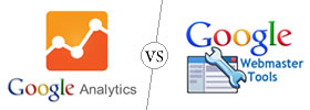 Google Analytics vs Google Webmaster Tools