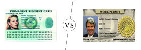 Green Card vs Work Permit
