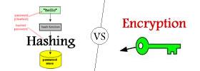 Hashing vs Encryption
