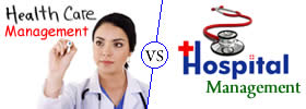 Healthcare Management vs Hospital Management