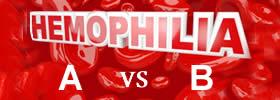 Hemophilia A vs Hemophilia B