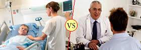 Hospital vs Clinic