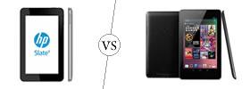HP Slate 7 vs Nexus 7