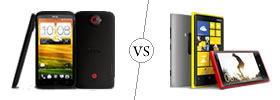 HTC One X+ vs Nokia Lumia 920