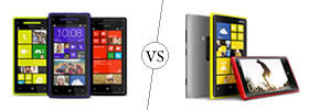 HTC Windows 8X vs Nokia Lumia 920