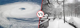Hurricane vs Blizzard