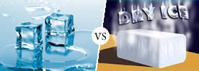 Ice vs Dry Ice
