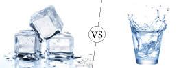 Ice vs Water