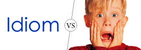 Idiom vs Expression