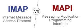 IMAP vs MAPI protocol