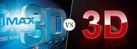IMAX 3D vs 3D