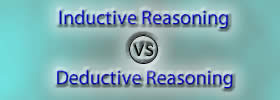 Inductive Reasoning vs Deductive Reasoning
