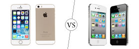 iPhone 5S vs iPhone 4S