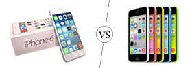 iPhone 6 vs iPhone 5C