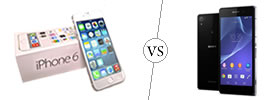 iPhone 6 vs Sony Xperia Z2