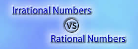 Irrational vs Rational Numbers
