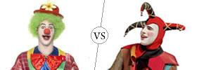 Joker vs Jester