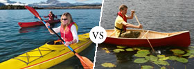 Kayak vs Canoe