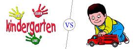 Kindergarten vs Playschool