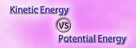 Kinetic Energy vs Potential Energy