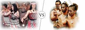 Kiwi vs Maori
