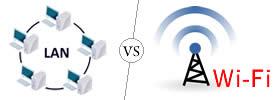 LAN vs Wi-Fi