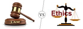 Law vs Ethics