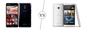 LG Optimus G Pro vs HTC One