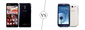 LG Optimus G Pro vs Samsung Galaxy S3