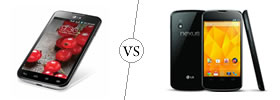 LG Optimus L7 II Dual vs Nexus 4