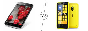 LG Optimus L7 II Dual vs Nokia Lumia 620