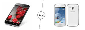 LG Optimus L7 II Dual vs Samsung Galaxy S Duos