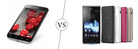 LG Optimus L7 II Dual vs Sony Xperia J