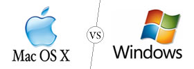 Mac OS X vs Windows