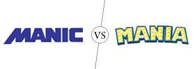 Manic vs Mania