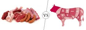 Meat vs Beef