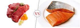 Meat vs Fish