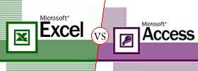 Microsoft Excel vs Access