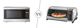 Microwave vs Toaster Oven