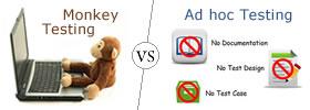 Monkey Testing vs Ad hoc Testing