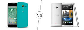 Moto X vs HTC One