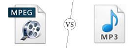MPEG vs MP3