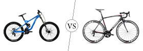 MTB vs Road Bike