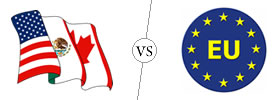 nafta vs eu vs asean Get an answer for 'what is the difference between a customs union the difference between a customs union and the north american free trade agreement.