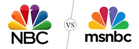 NBC vs MSNBC